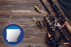 arkansas fishing rods and reels