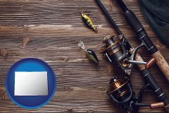 colorado fishing rods and reels
