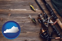 kentucky fishing rods and reels