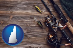 new-hampshire fishing rods and reels