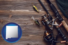 new-mexico fishing rods and reels