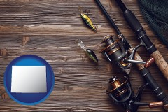 wyoming fishing rods and reels